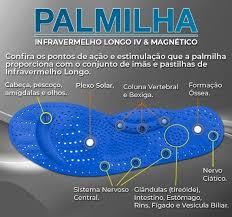 Palmilha Magnetica Com Infravermelho II